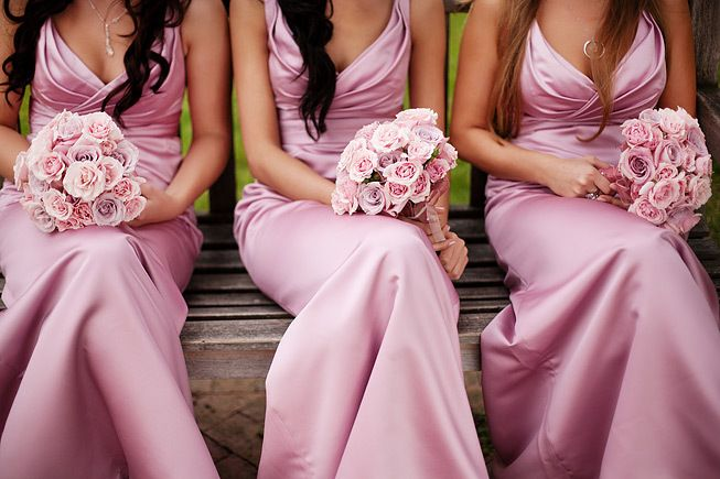 Pretty in grown up pink by bride blossom nycs only luxury newcastle golf course wedding 20 junglespirit Image collections