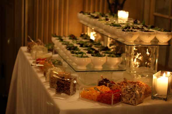 Wedding foods trends of 2014 by bride blossom nyc 39 s for Food bars for weddings