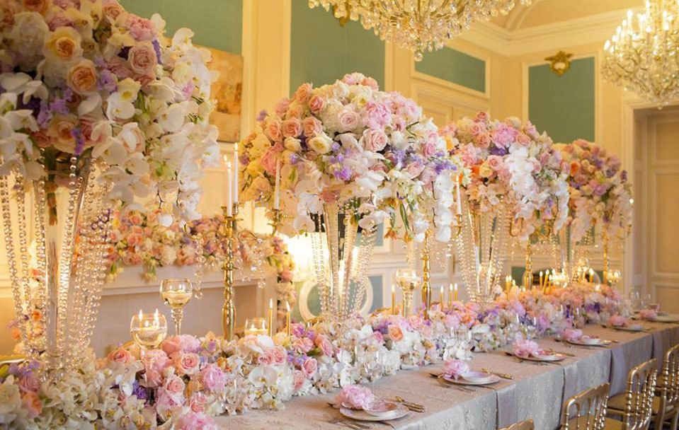 High Centerpieces Wedding Gallery And Inspiration By Bride amp Blossom NYCs Only Luxury