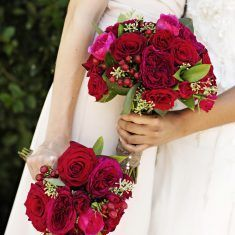 Bridesmaids Bouquets / Fornino / Adeline & Grace Photography