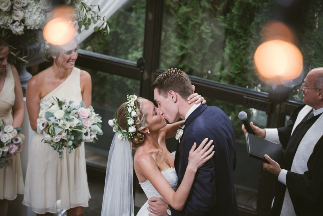 Christina & Derek - The Foundry LIC - by Kevin Markland