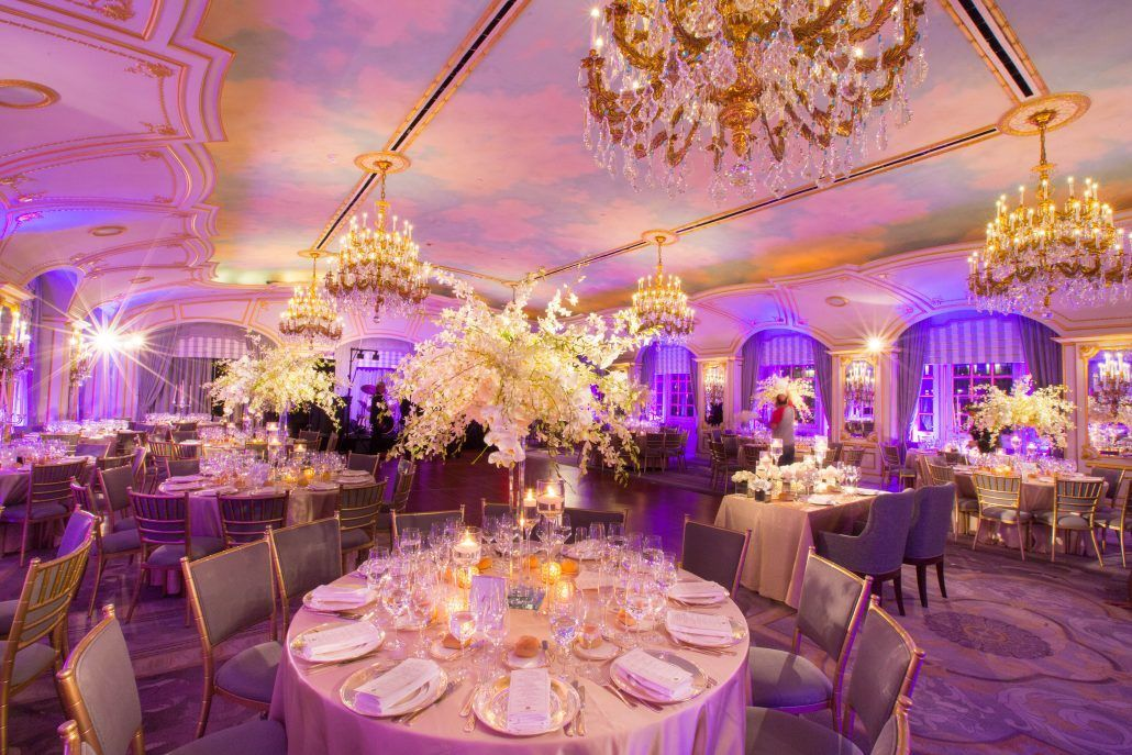 Hannah and Mark Wedding - High Centerpiece - St Regis - Shira Weinberger Photography
