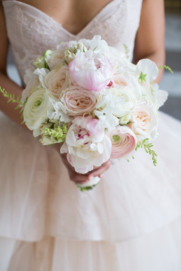 Jean & Bryan Wedding - Bouquet - Bronx Post Office - by Karen Wise