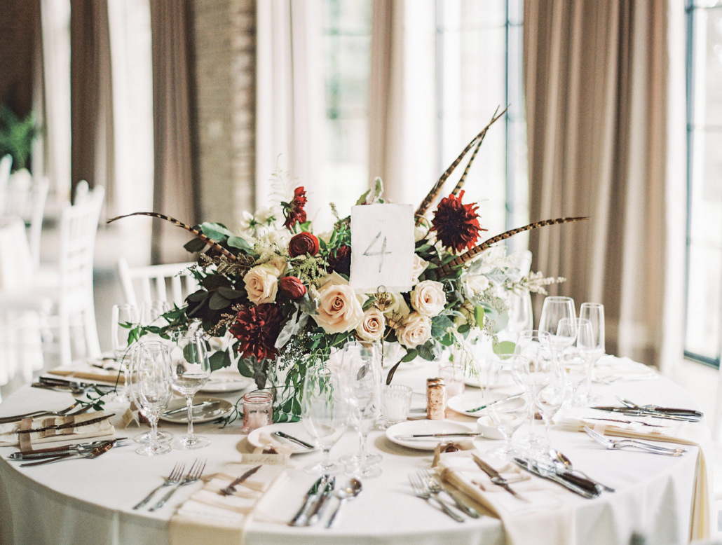 Low Wedding Floral Centerpieces | Wedding Gallery and Inspiration by ...