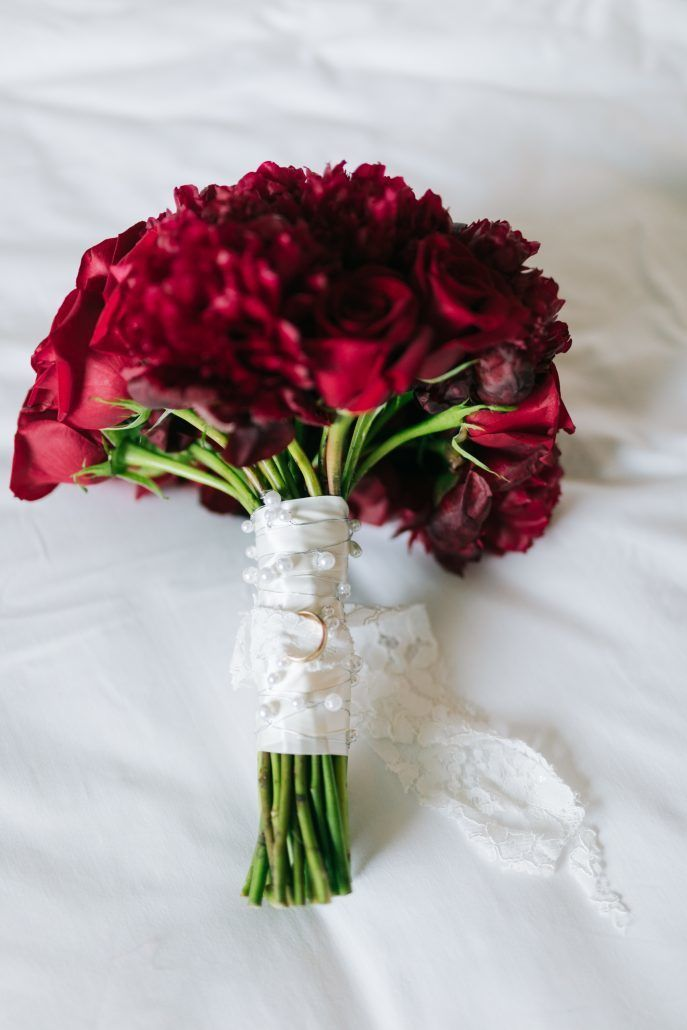 Lorenza & Pete Wedding - Bouquet - New York Botanical Garden - by The Hons