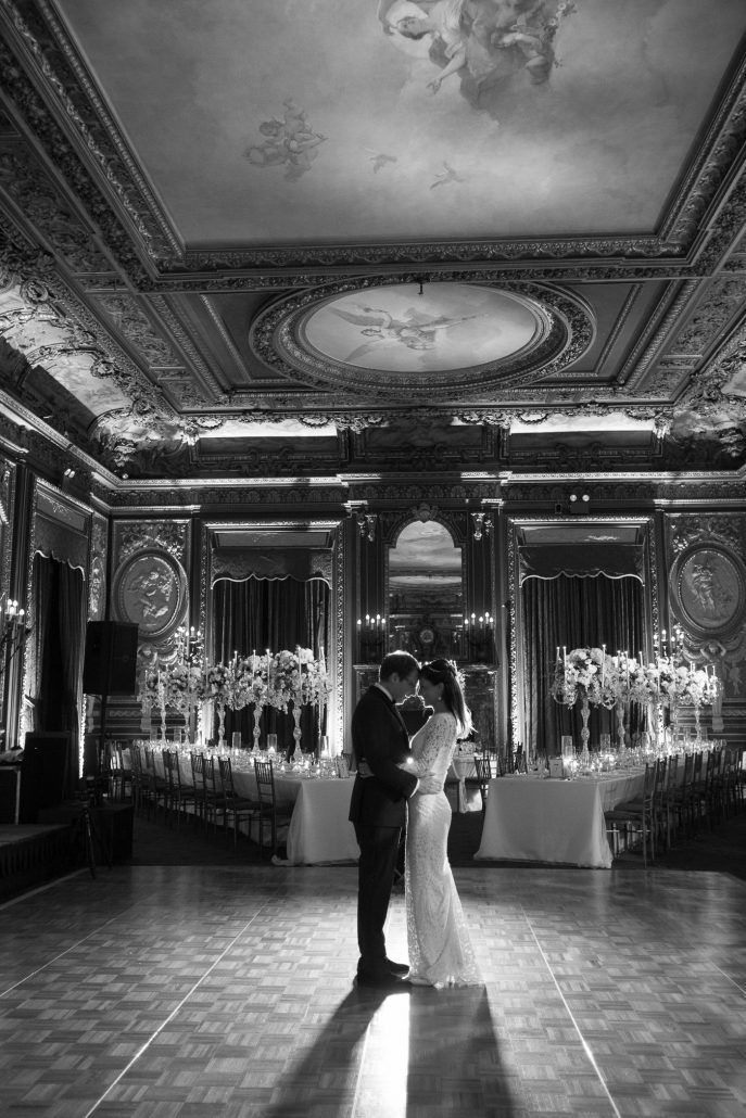 Raphaela & Neil Wedding - Bride and Groom - Metropolitan Club - by Hechler Photographers