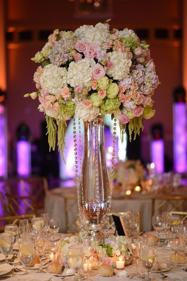 High Centerpieces For Heightened Drama By Bride