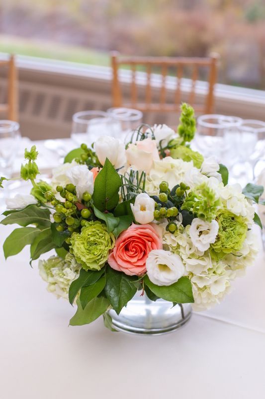 Fresh green at the garrison by bride blossom nyc s