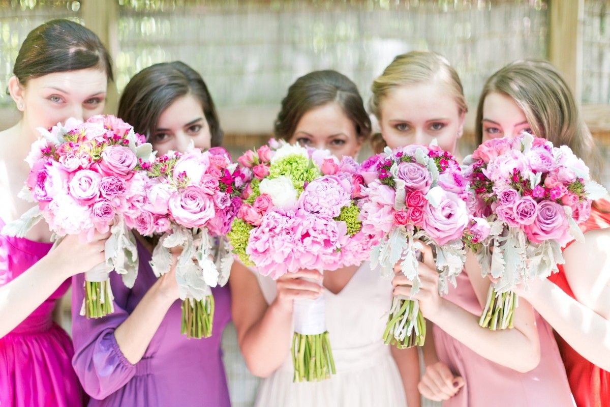 Bridesmaid dresses by bride blossom nycs only luxury wedding cassiclaire bridesmaid bouquets ombrellifo Images