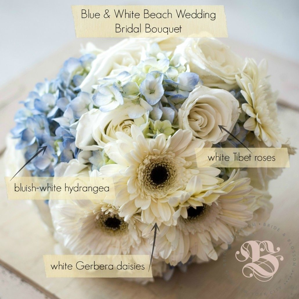 Beach Wedding Flower Ideas: By Bride & Blossom, NYC's Only