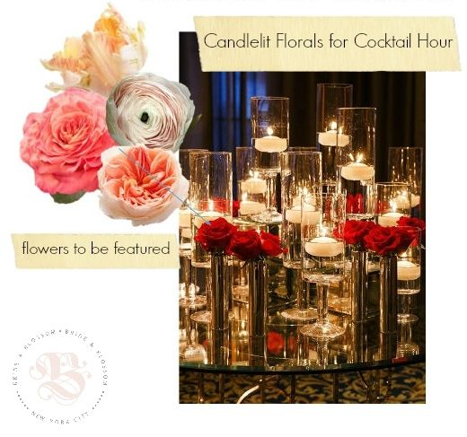 Mood Board-Cocktail-Hour-Floral-Decor
