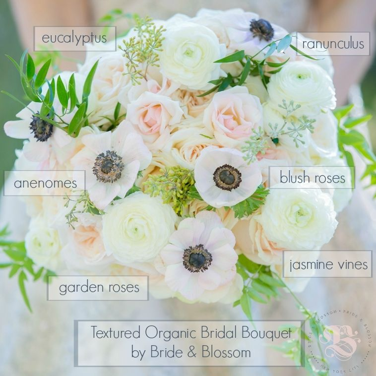 Bouquet Recipe: Organic & Textured | by Bride & Blossom, NYC\'s Only ...