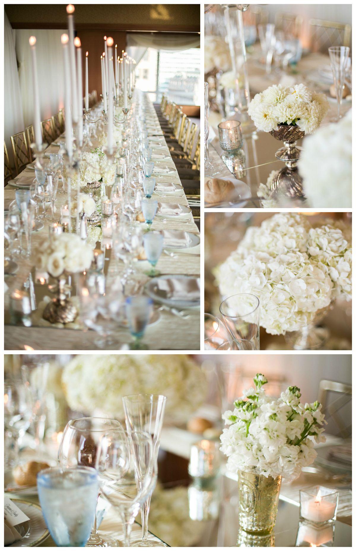 White Wedding at The Ritz-Carlton NY   by Bride & Blossom, NYC\'s ...