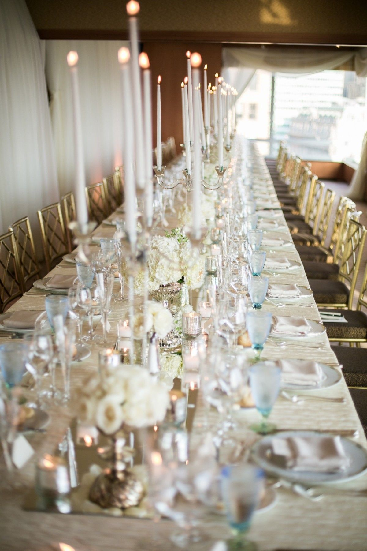 White Wedding At The Ritz Carlton Ny By Bride Amp Blossom