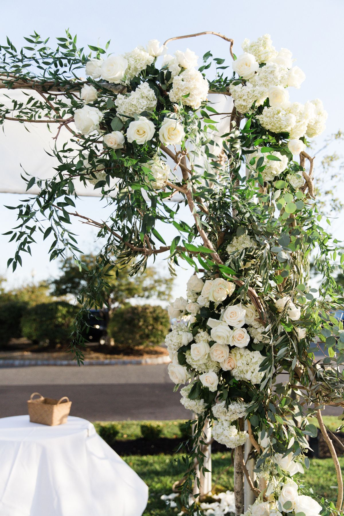 Wedding Floral Packages Nj : It s a nice day for white wedding by bride blossom