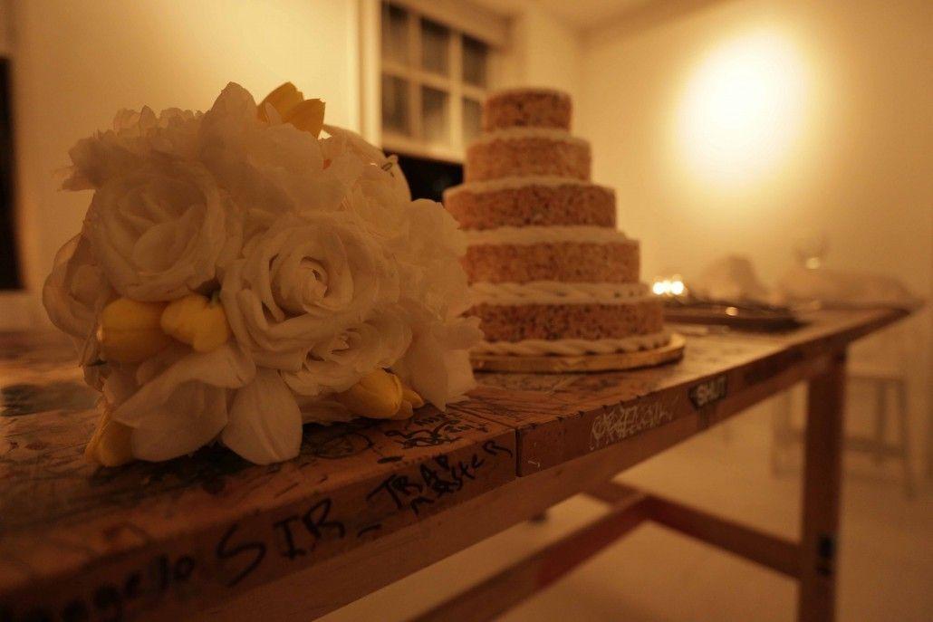 wedding bouquet andy warhols loft shareif ziyadat