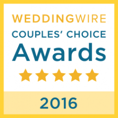 Wedding Wire Couples' Choice Award Badge - 2016