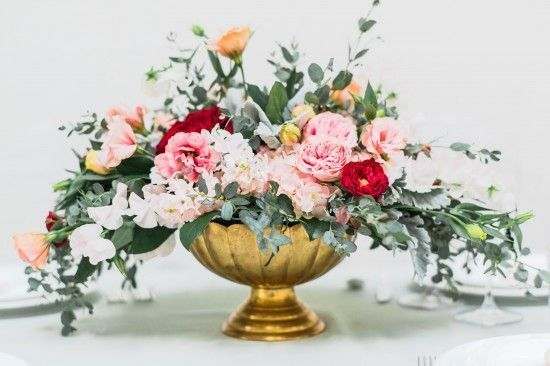 English Garden Floral Arrangements