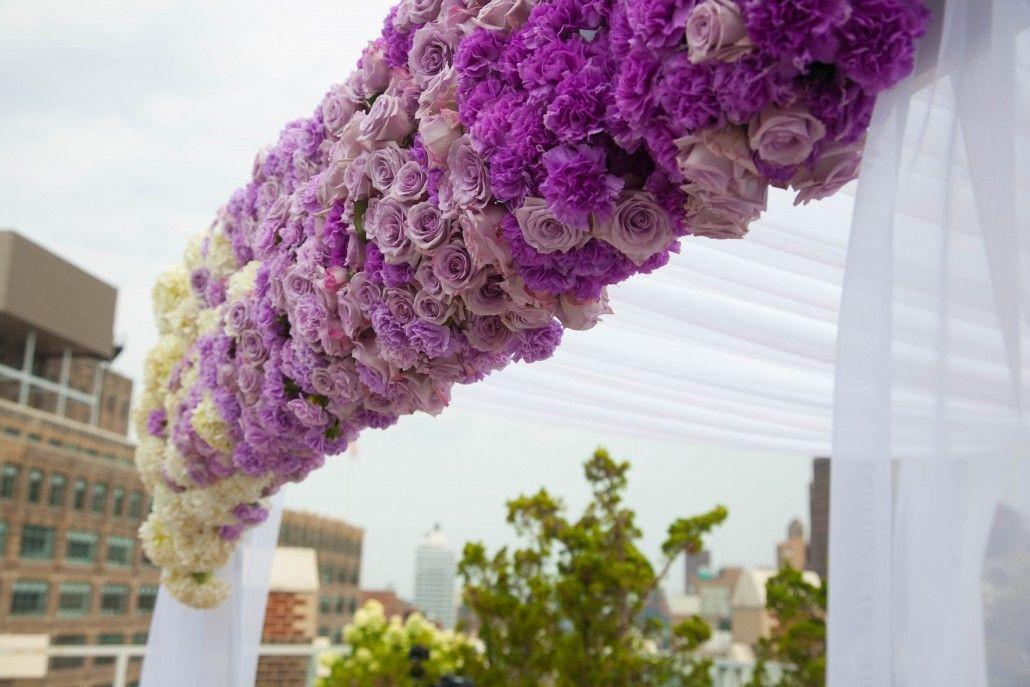 Beautiful Outdoor Wedding Ceremony At Tribeca Rooftop: 5 Outdoor Weddings Tips & Tricks