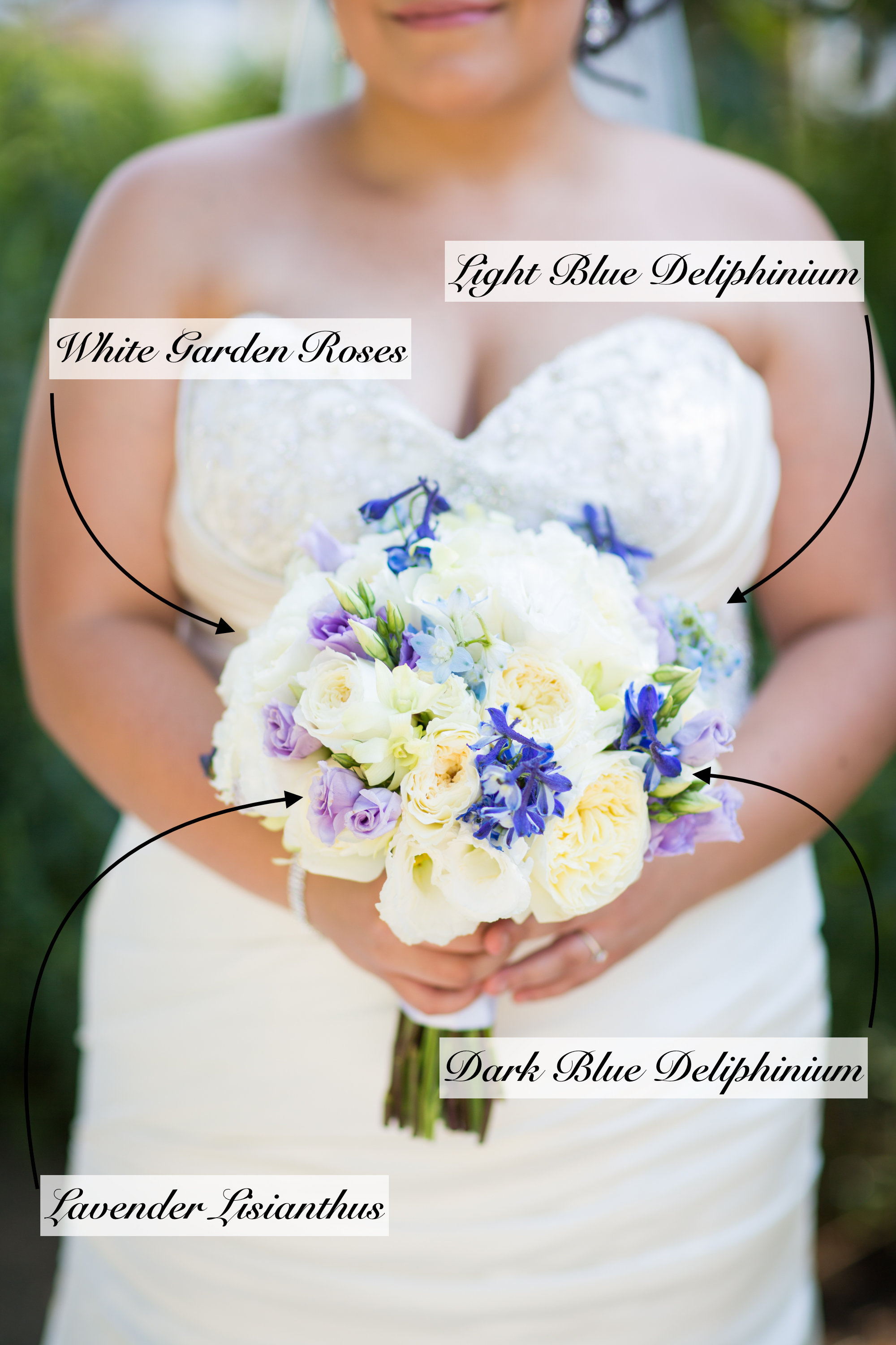 If You Want To Put A Fresh Spin On The Old Adage Of Something Borrowed Blue In Your Bouquet