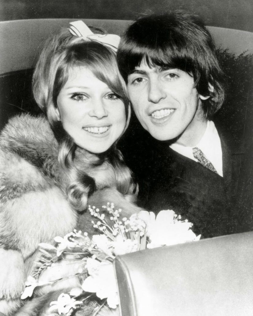 Pattie Boyd George Harrison Wedding 60's Style Inspiration Bridal