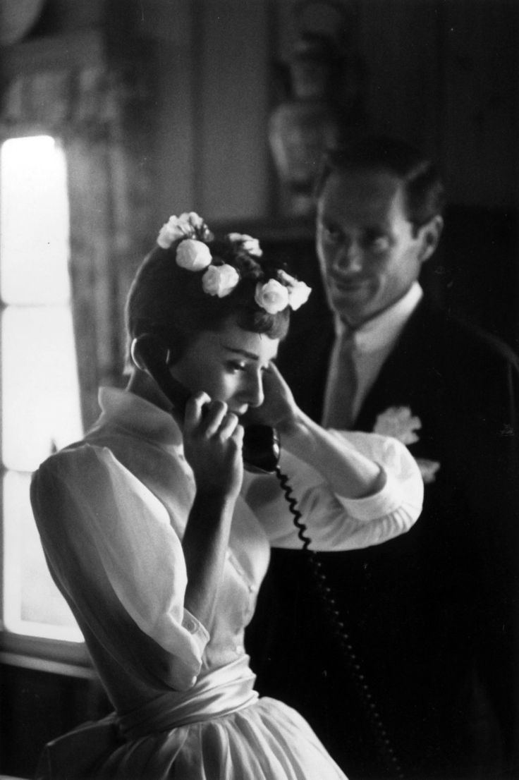 Audrey Hepburn And Mel Ferrer Wedding 60's Bridal Inspiration