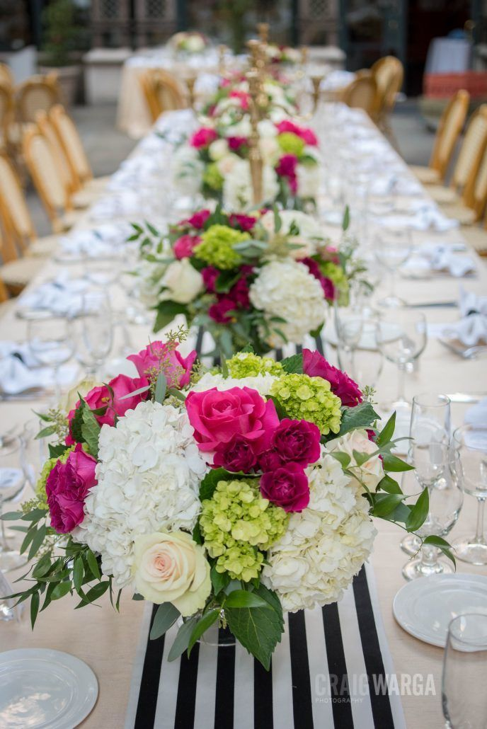 Tablescape / Shelby & Jonathan / Bryant Park Grill / Craig Warga Photography