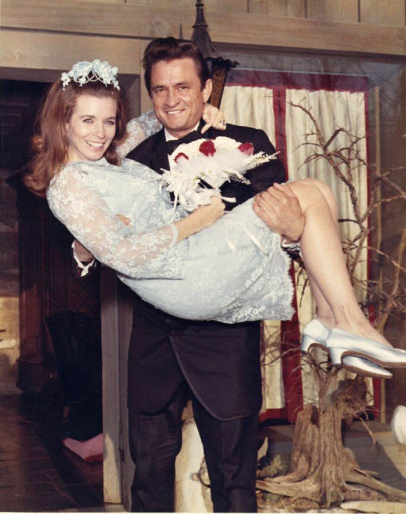 Johnny Cash June Carter Wedding 60's Bridal Inspiration