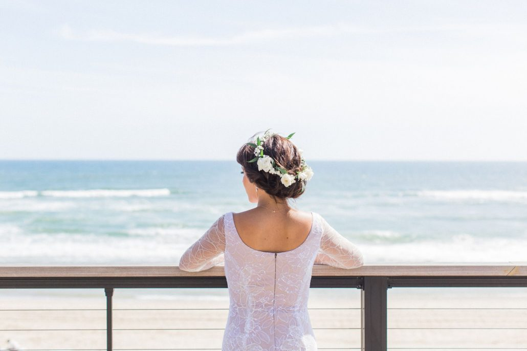 Shelly & Saba / Gurney's Montauk / Photo by Flora + Fauna / Planned by Whimsy Weddings /