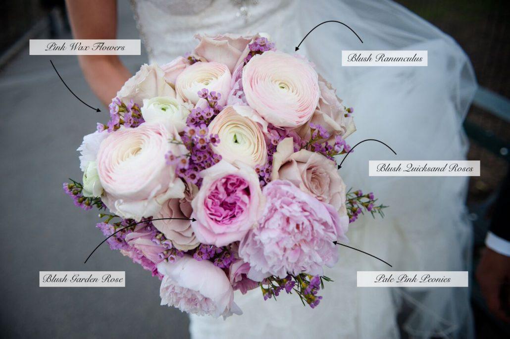 Bridal Bouquet / Amanda and Thomas / JWM Essex House / Kelly Guenther Studio