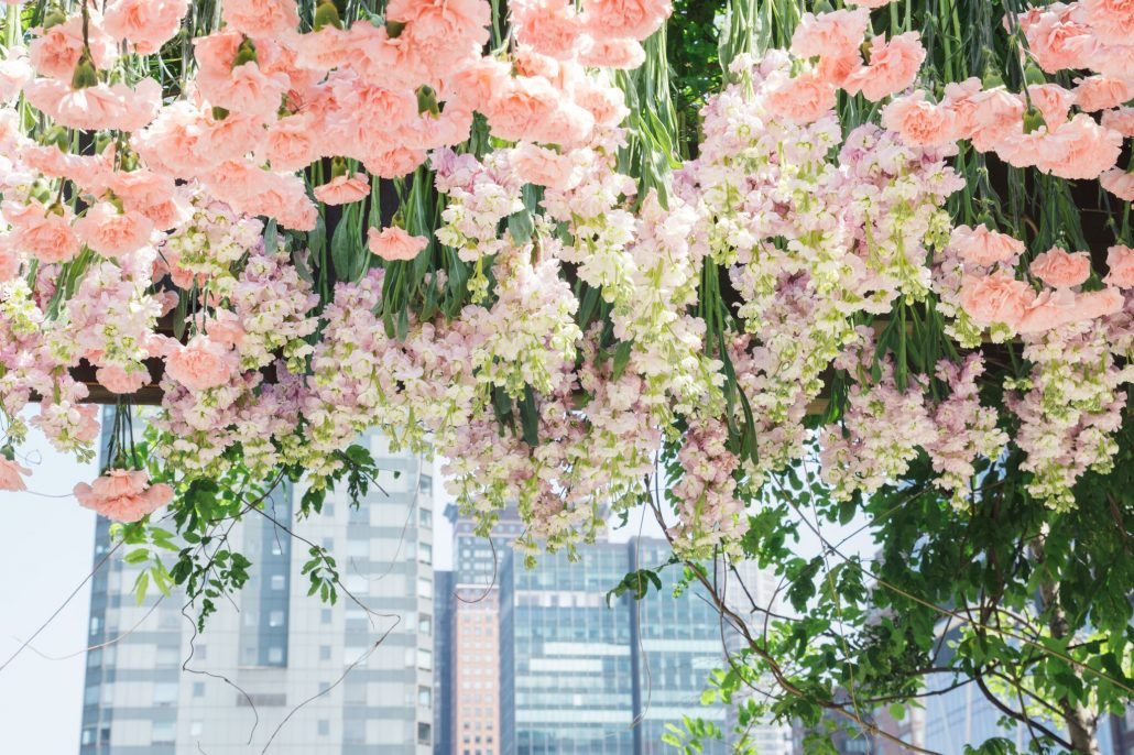Floral Ceiling / Jiao + Chuang / Hudson Hotel / Cait J McCarthy Photography