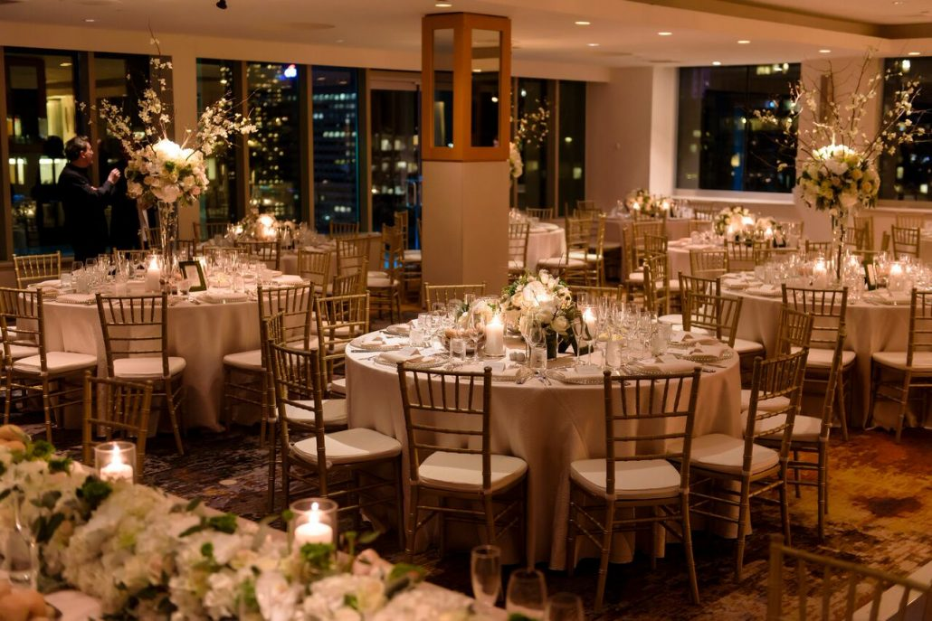 Wedding Reception / Joyce and Patrick / Le Parker Meridien / Photo by Susan Stripling Photography