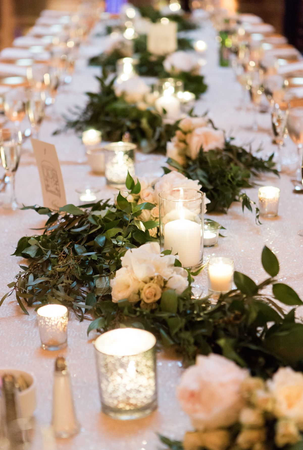 Light Up Your Reception: Stunning Ways To Use Candles In ...