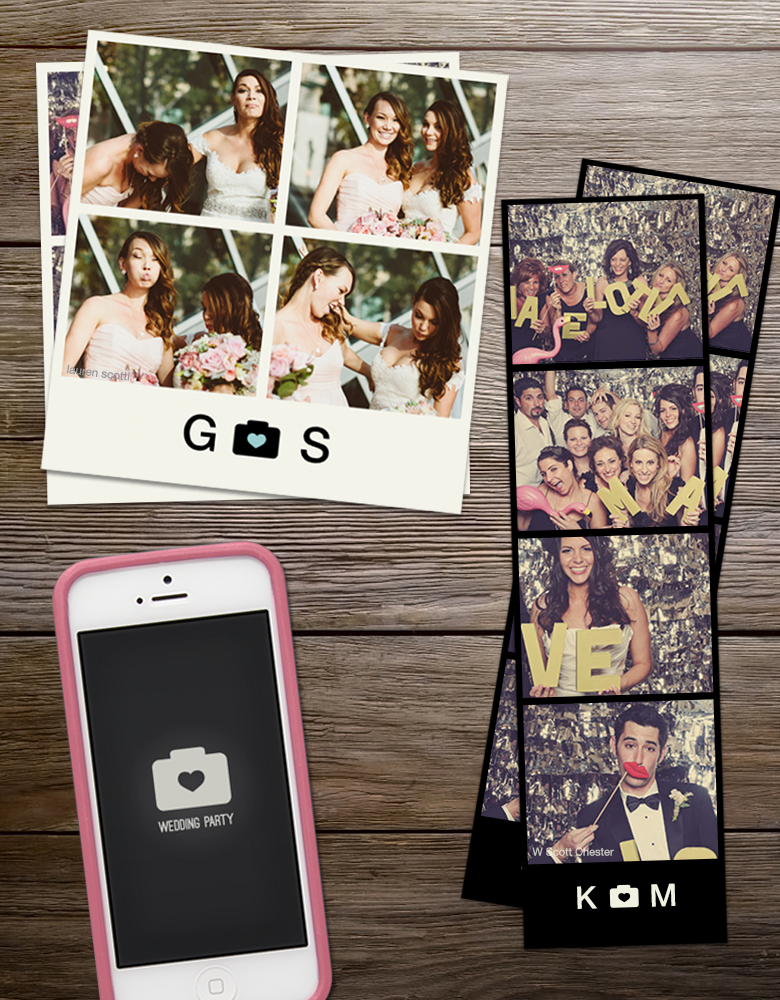 Wedding Party App via apracticalwedding.com