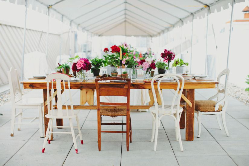 Brooklyn Grange Farm Wedding / Les Loups Photography