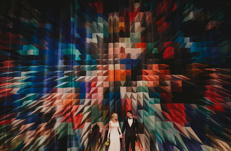 Museum of Moving Image Wedding / Chellise Michael Photography