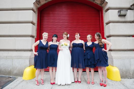 New York City Fire Museum Wedding / Kristina Hill Photography