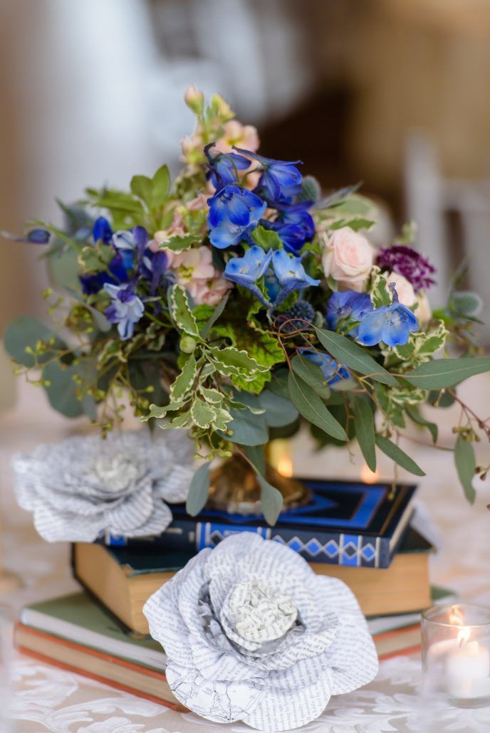 Centerpiece / Shoshana & Michael / Carlyle on the Green / Susan Stripling Photography