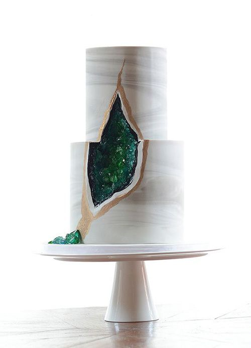 Geode Cake by MJ Cakes