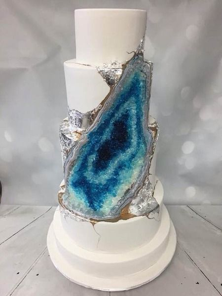 Geode Cake by Whisk Cake Company