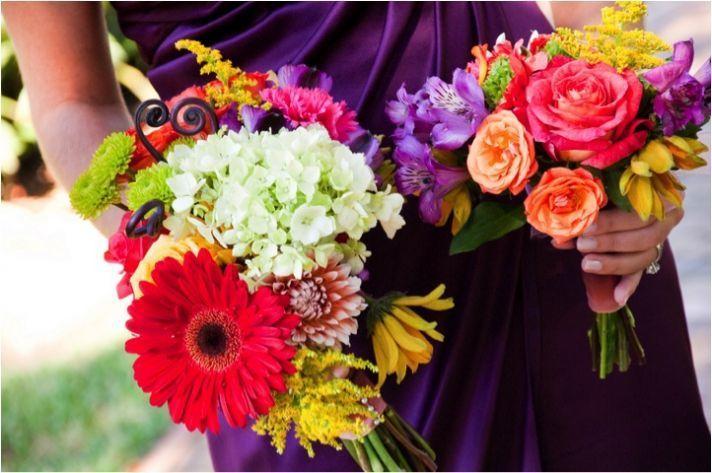 Mexican Bridal Bouquets via Three Drops of Sunshine