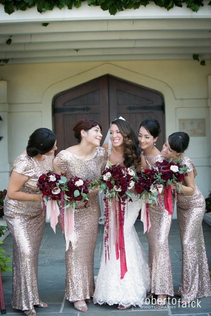 Bridesmaids / Pilar & Freddy / Raphael Vineyards / Roberto Falck Photography