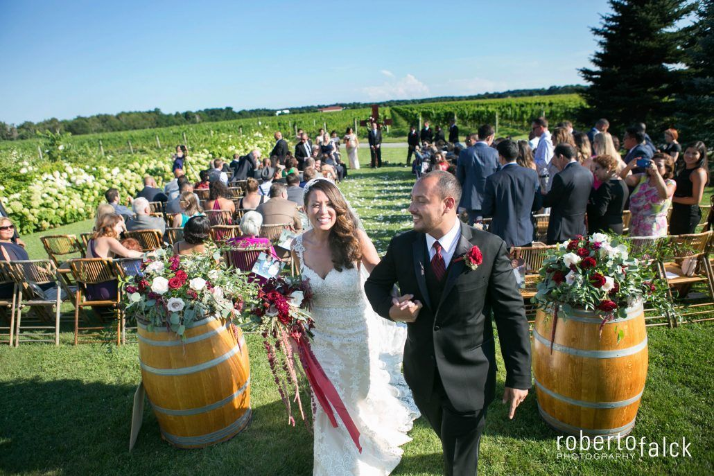 Ceremony / Pilar & Freddy / Raphael Vineyards / Roberto Falck Photography