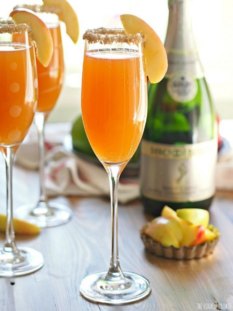 Apple Cider Mimosa The Cookie Rookie