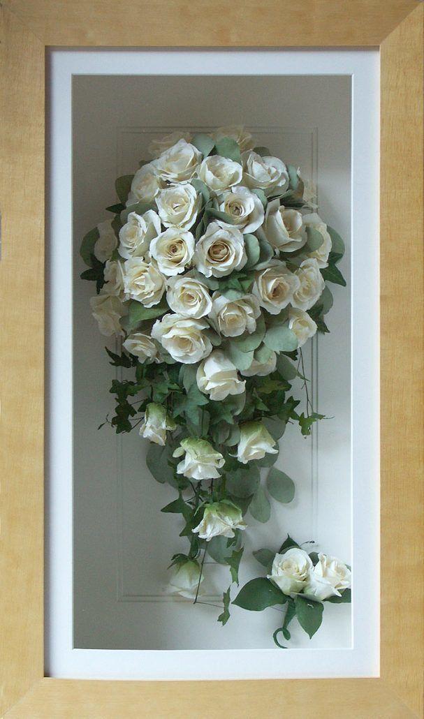 Shadow Box Bouquet via Petals by Xavi