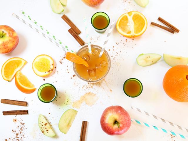 The Apple Cider Margarita via The Nest