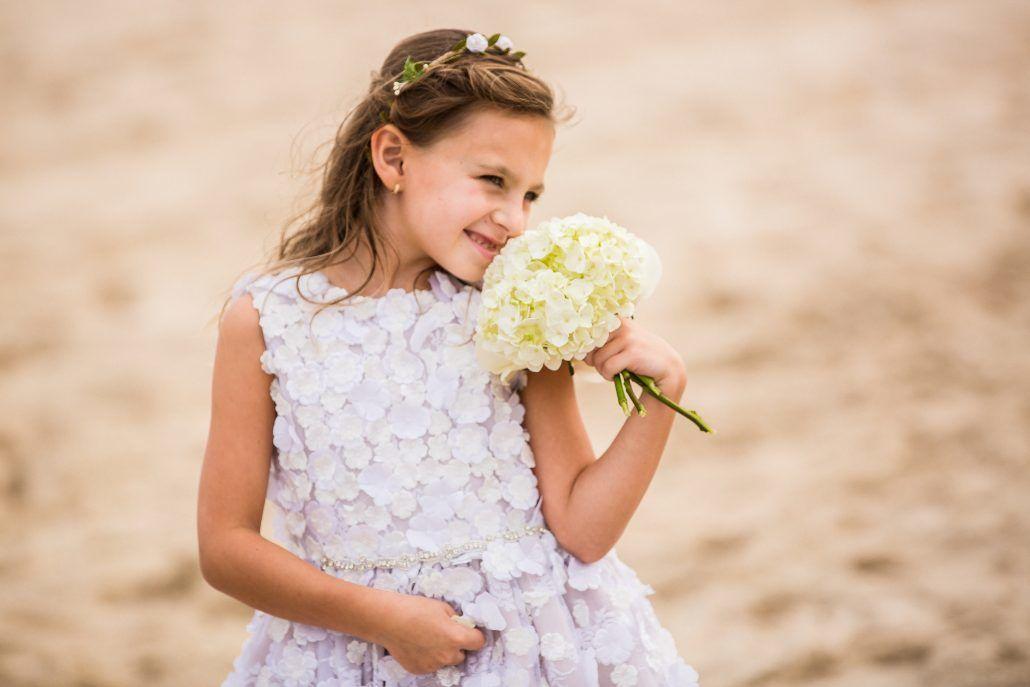 Becca & Dave - Flower Girl - Bouquet - Bridgehampton Tennis & Surf Club - Andre Maier Photography