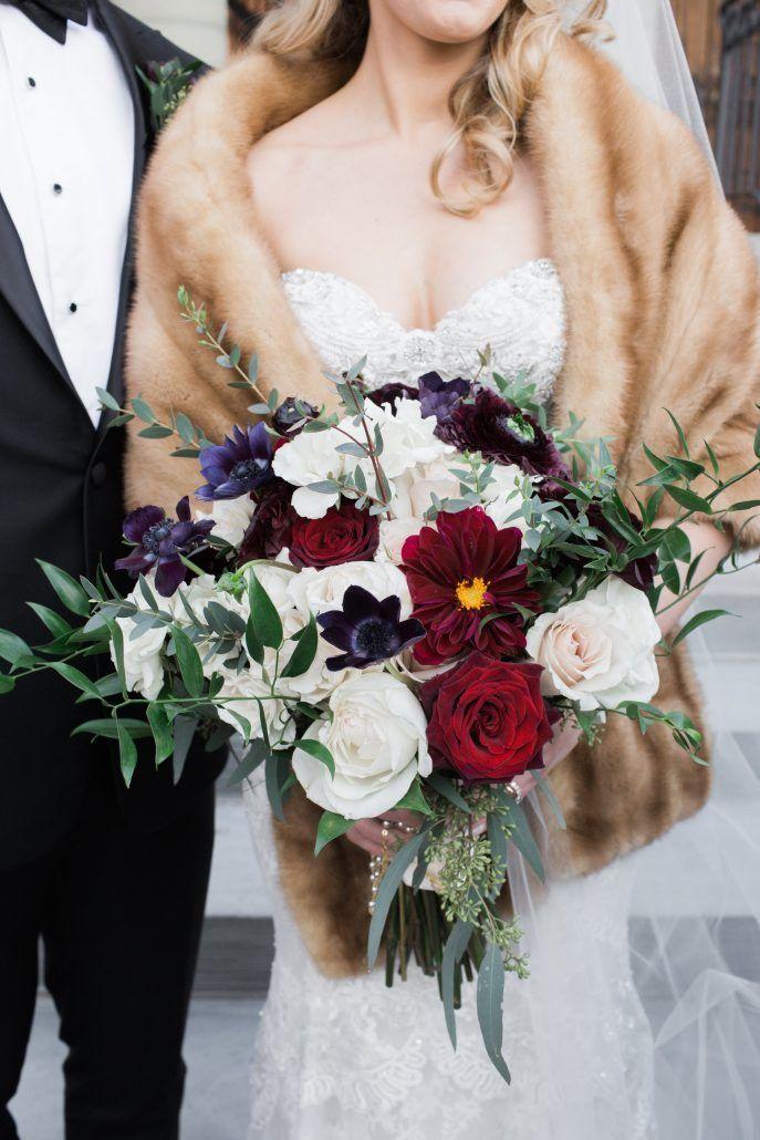 Bridal Bouquet / Ryan & Darren / Crabtree Kittle House / Meg Miller Photography