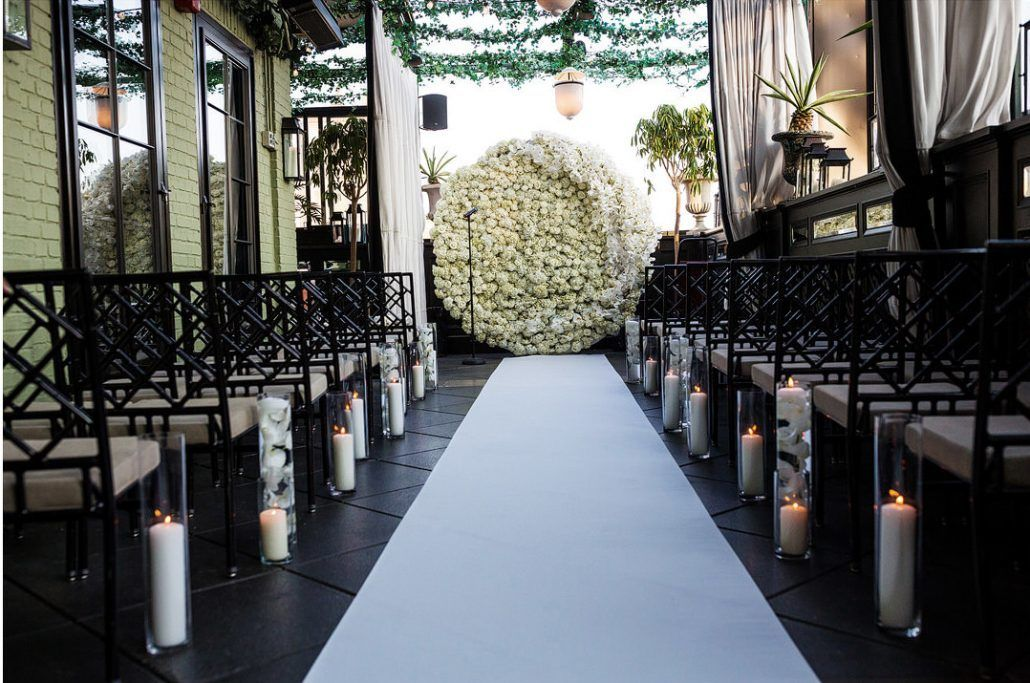 Flower Wall - Mairin and Seo's - Gramercy Park Hotel - STAK Studios Photography