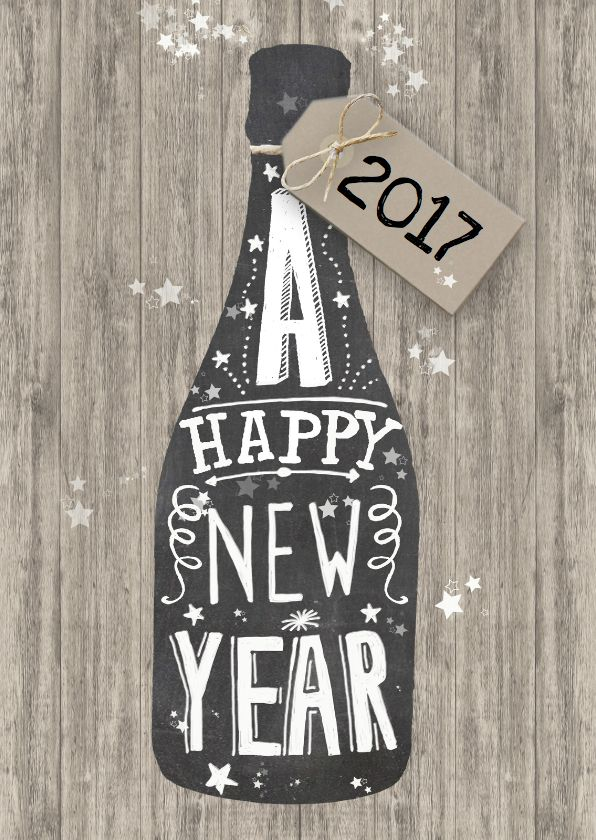 Happy New Year - via Kaartje2go